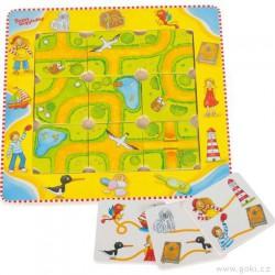 Logická hra pro děti – najdi cestičku