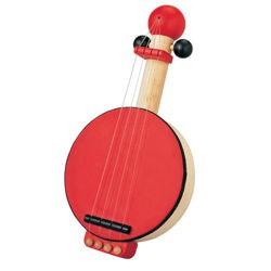 Dřevěné banjo