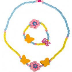 Sada dětské bižuterie - Květinka