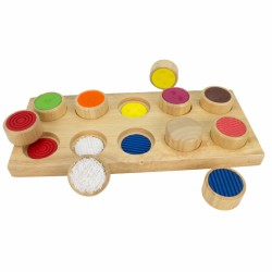 Hmatová hra – Rozličné povrchy