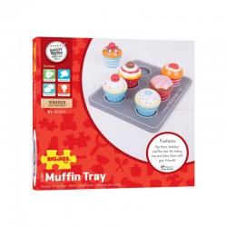 Dřevěné hračky - Muffiny