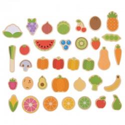 Magnetky - Ovoce a zelenina 35 ks