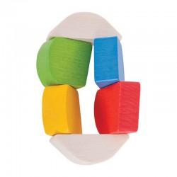 Dřevěná hračka První Twister