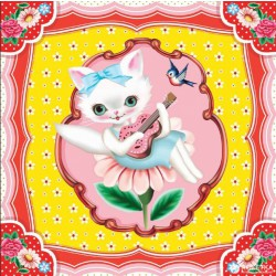 Hrací skříňka Kočička
