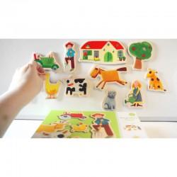Dětské dřevěné hračky
