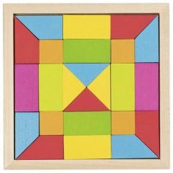 Skládačka mozaika – duha, 24 díly