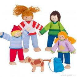 Panenky do domečku – rodina z kempu, 5 dílů