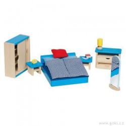 Nábytek pro panenky moderní – ložnice 14 dílů