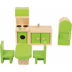 Nábytek pro panenky - Kuchyně 5 dílů
