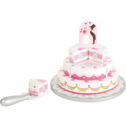 Svatební dort ke krájení