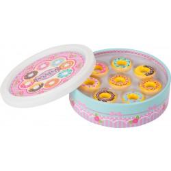 Dřevěné donuty