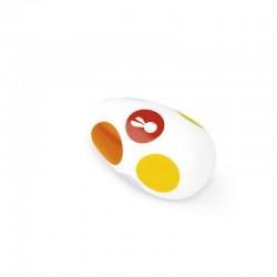 Rumbakoule vajíčko Confetti