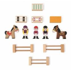 Postavičky a zvířátka - Koníci