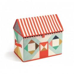 Box na hračky Domeček