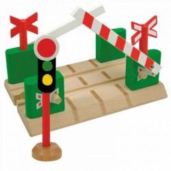 Příslušenství k vlačkodráze - Přejezd se závorami a semaforem