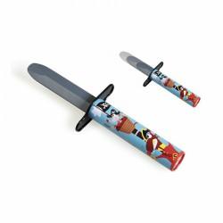 Pirátský nůž modrý