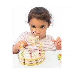 Narozeninový dort Vanila