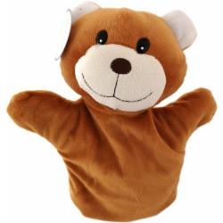 Maňásek na ruku Medvídek hnědý