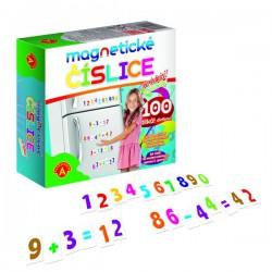 Magnetické číslice, 100 dílků