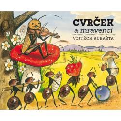 Knížka Cvrček a mravenci