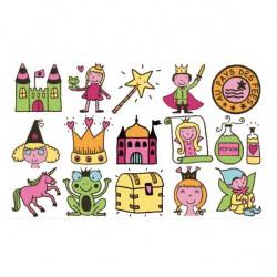 Dětská razítka - Vílí království