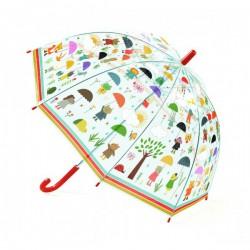 Dětský deštník V dešti