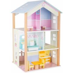 Domeček pro panenku otočný palác