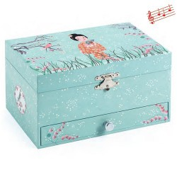 Hrací skříňka gejša