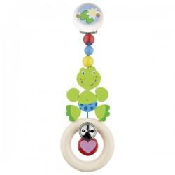 Závěsná dřevěná hračka Žabička