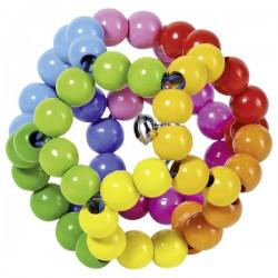 Duhový míč – chrastítko