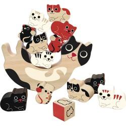 Balanční hra kočičky