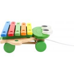 Legler Tahací Xylofon žába