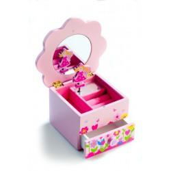 Skříňka šperkovnice Princess hrající