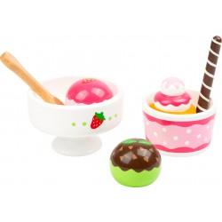 Set na přípravu zmrzlinového poháru