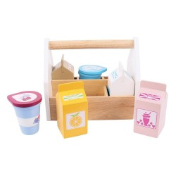 Koktejlové výrobky v přenosné krabičce