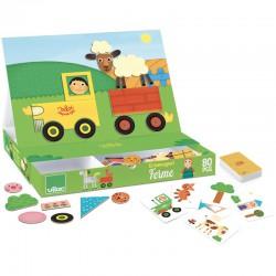 Kreativní hra s magnety Farma