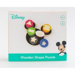 Disney Dřevěné motorické tvary Mickey