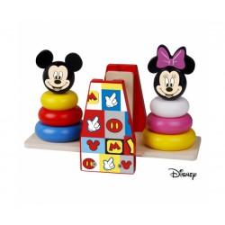 Disney Dřevěná balanční hra Mickey a Minnie
