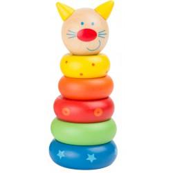 Navlékací pyramida - Kočička