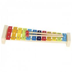 Kovový xylofón 12 tónů