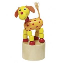 Mačkací figurka - Veselý pes