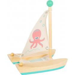 Small Foot Vodní hračka katamarán chobotnice