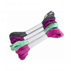 Náramky k vyšití fialové