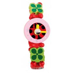 Small Foot Dřevěné hodinky princess - Beruška